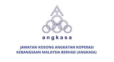Jawatan Kosong Angkatan Koperasi Kebangsaan Malaysia Berhad 2019 (ANGKASA)