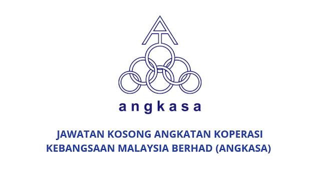 Jawatan Kosong Angkatan Koperasi Kebangsaan Malaysia Berhad 2021 (ANGKASA)
