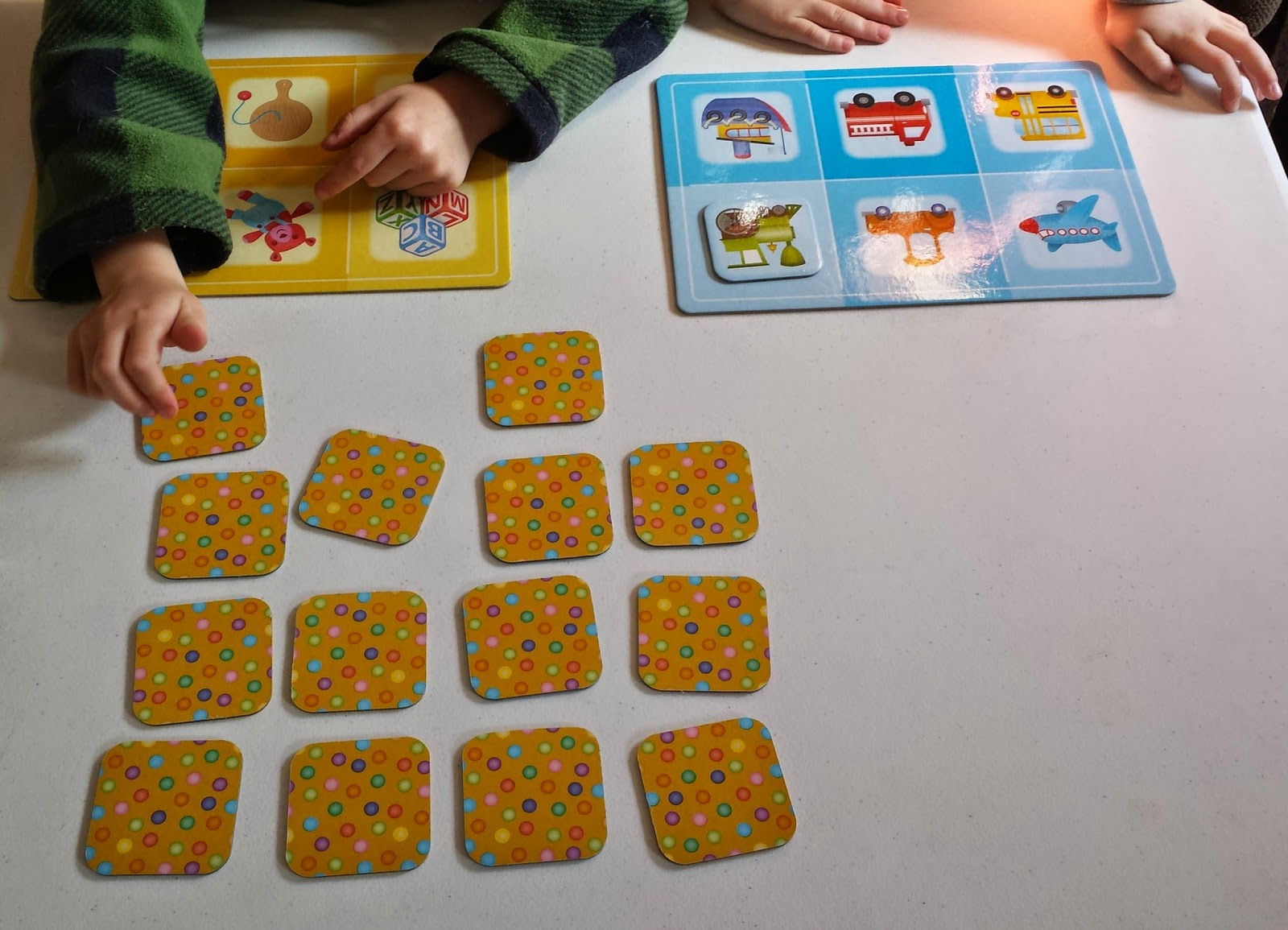 Munchkin and Bean  Game of the Month  eeBoo s Pre school Lotto Game This is a great game for toddlers and preschoolers  Kindergarteners may  find it too easy  which is why I sometimes try to make it more difficult  for Bean