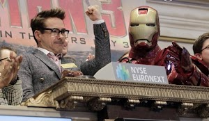 Robert Downey Jr. and Iron Man: The kings of Wall Street savor their triumph