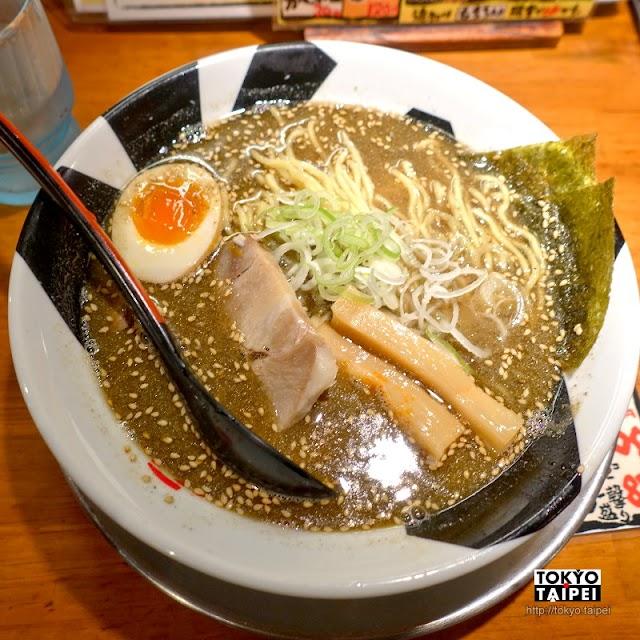 【Onnoji】仙台街頭小店 深色湯底份量充足的魚介豚骨拉麵
