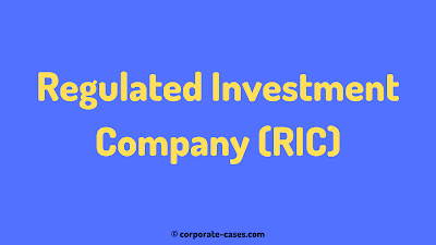 regulated investment company (ric)
