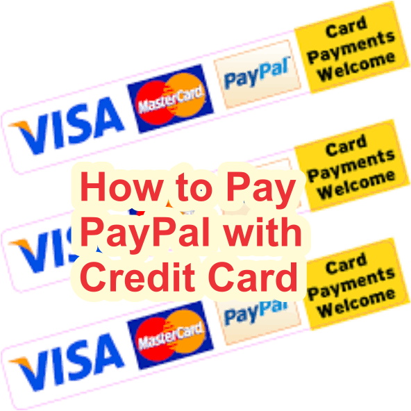 How to pay paypal with Credit Card