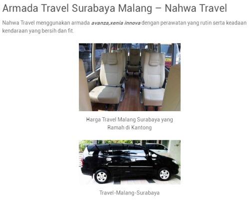 Ilustrasi Travel Malang Juanda? Pilih Nahwa Travel, Bukan yang Lain