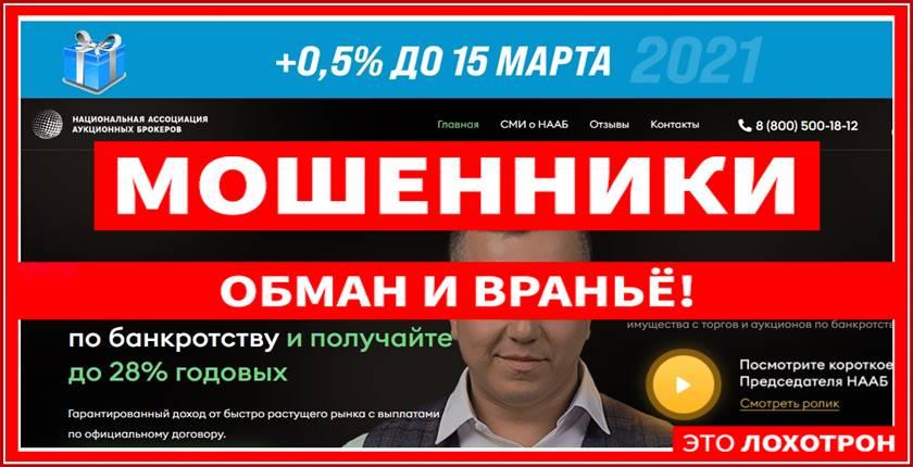 Мошеннический сайт naab-invest.ru, naabinvest.ru – Отзывы, развод, платит или лохотрон? Мошенники