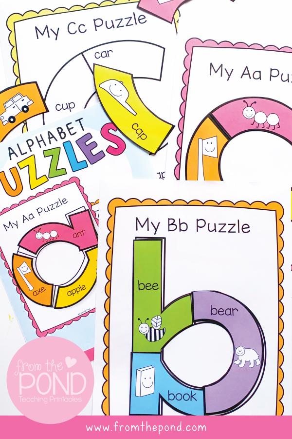 Alphabet for Kindergarten