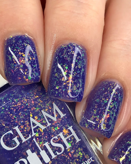 Glam Polish Resting Beach Face 25 Sweetpeas