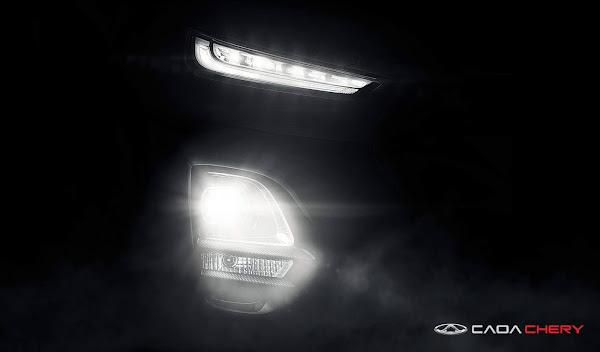 Caoa Chery divulga novo teaser do novo SUV Tiggo 3X