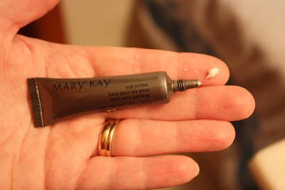 8a58b03745e So, when using these products you always want to start with your base  products. The first thing I did was apply the Mary Kay Eye Primer.