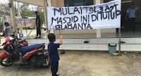 Masjid Ini Ditutup Selamanya Karena Pengurusnya Salafi