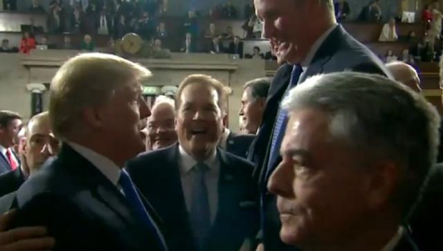 Trump on hot mic says he will '100 percent' release Devin Nunes memo