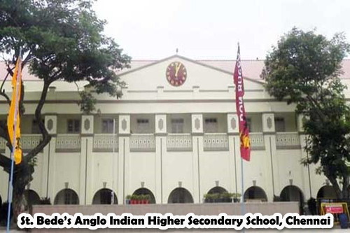 St. Bede's Anglo Indian Higher Secondary School, Chennai