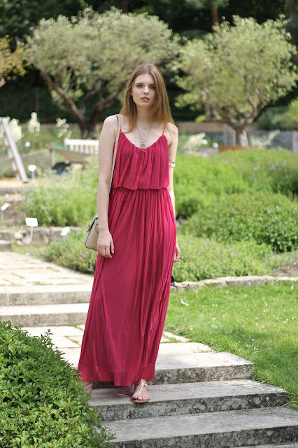 IMG 6534 - MAXIKLEID IN MAGENTA