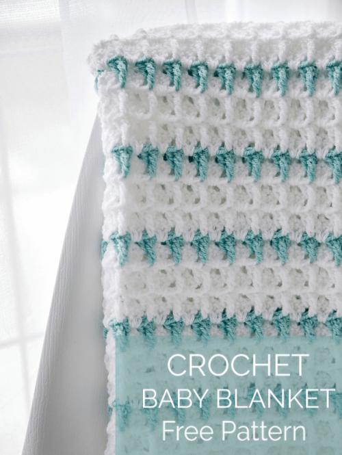 Rumi Crochet Baby Blanket - Free Pattern