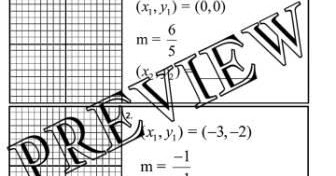 The Math Magazine: Graphing Slope Rise over Run Worksheet