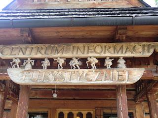 Punto de Informacion Turistica de Zakopane, Polonia