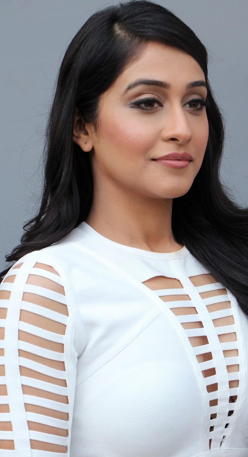 Regina Cassandra Hot Photoshoot In White Dress