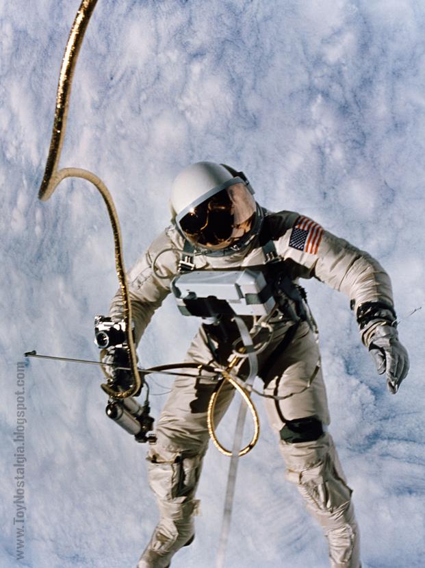 Ed White - Chest pack / HHSMU / camera- GEMINI (ACTION MAN ASTRONAUT  HASBRO-PALITOY)