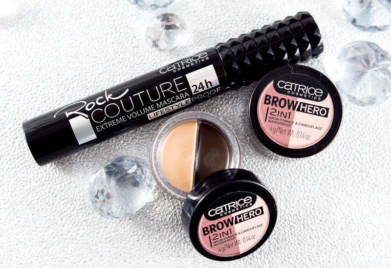 Catrice neues Sortiment  Frühjahr Sommer 2018,Catrice Brow Hero 2in1 Brow Pomade & Camouflage Waterproof