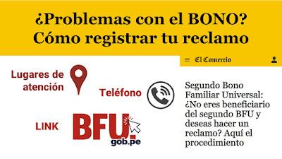 ¿Problemas con el Bono Familiar Universal? LINK y Centros de Atencion para inscribir de tu caso