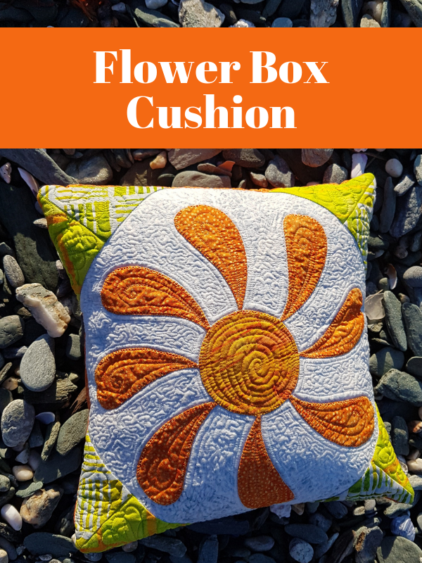 Flower Box Cushion | DevotedQuilter.com