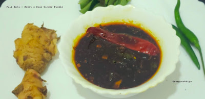 puli ini-sweet & sour ginger pickle