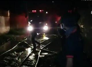 Pabrik Pengolahan Minyak Kepala Sawit di  KIM 1 Terbakar