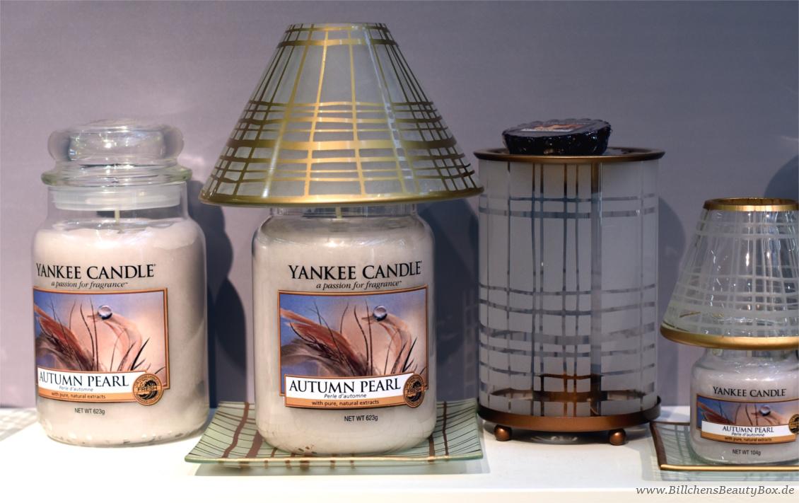 Yankee Candle - Alle Kollektionen und Duftbeschreibungen für 2018 - Herbstduft Autumn Pearl