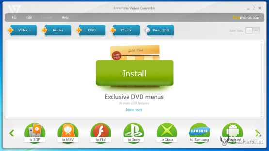 Freemake Video Converter screenshot 3