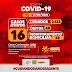 Jaguarari registra 03 novos casos de coronavírus neste sábado (17); oito pessoas estão internadas