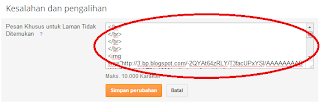 Membuat Custom Artikel Not Found 404