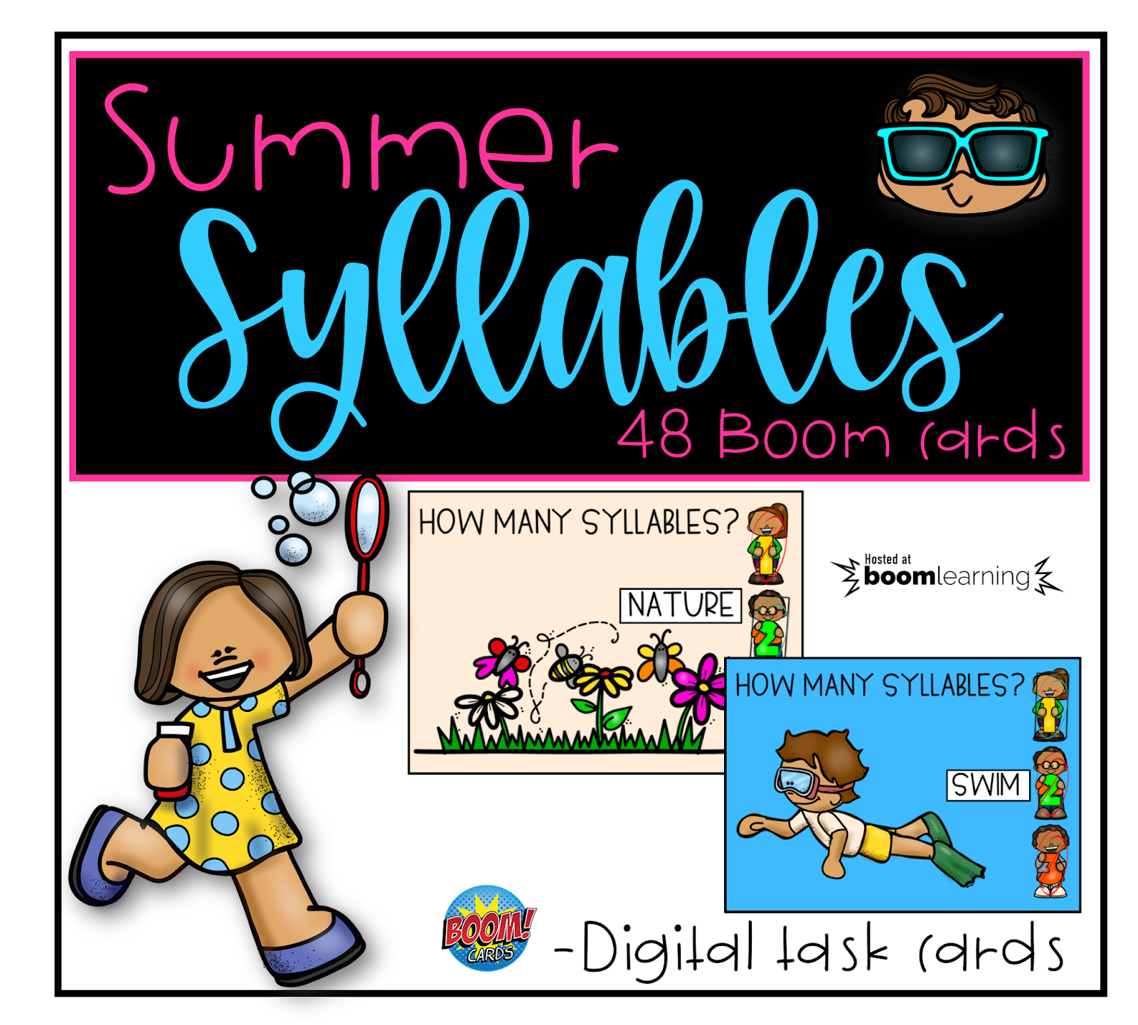 Simply Delightful In 2nd Grade Summer Counting Syllables