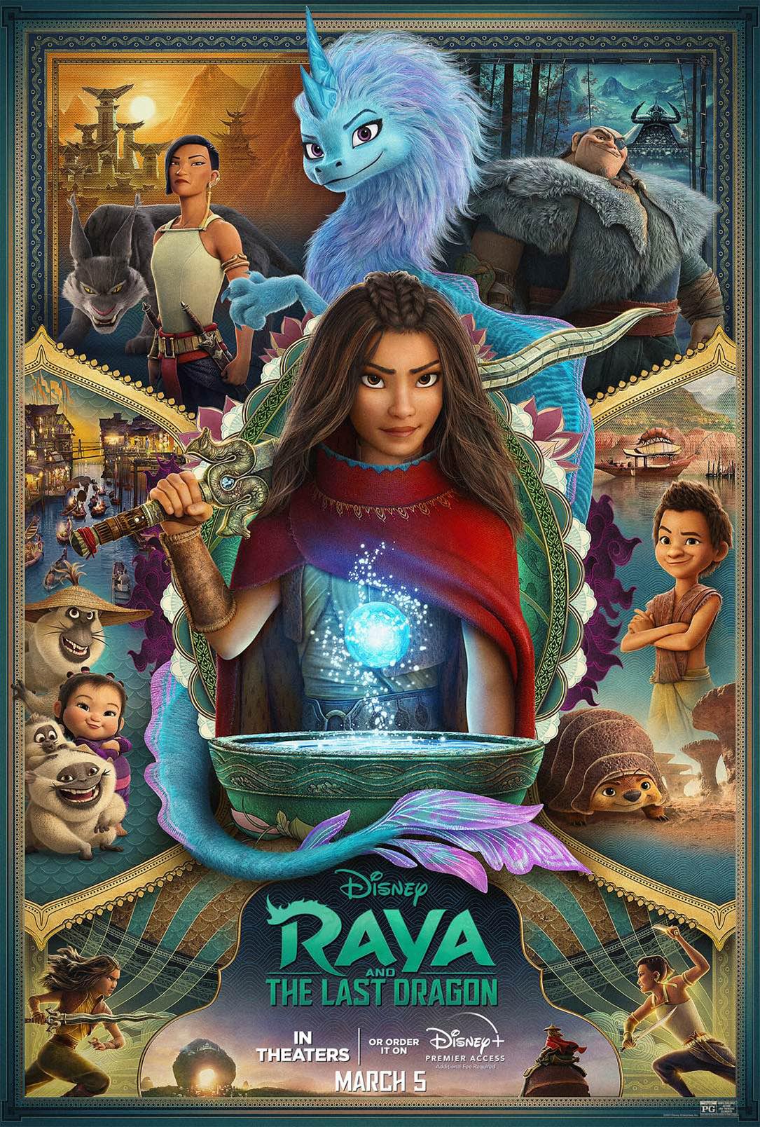 Review Filem Raya and the Last Dragon (2021), Padat Dengan Budaya Asia Tenggara