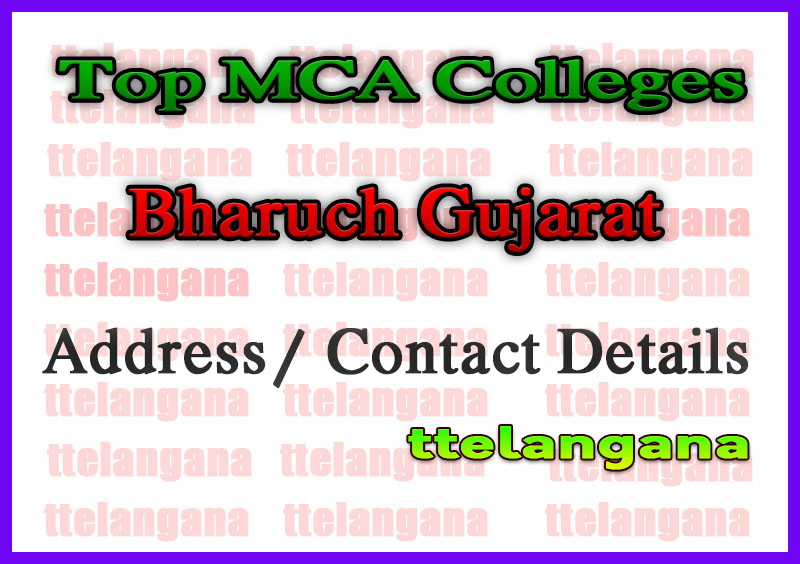 Top MCA Colleges in Bharuch Gujarat
