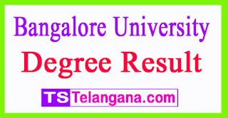Bangalore University Degree Result 2017 BU UG PG  Results