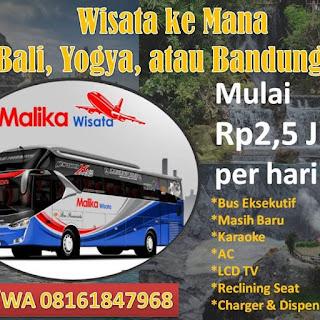 Paket Murah Travel Bis Harga Murah Malika Tour
