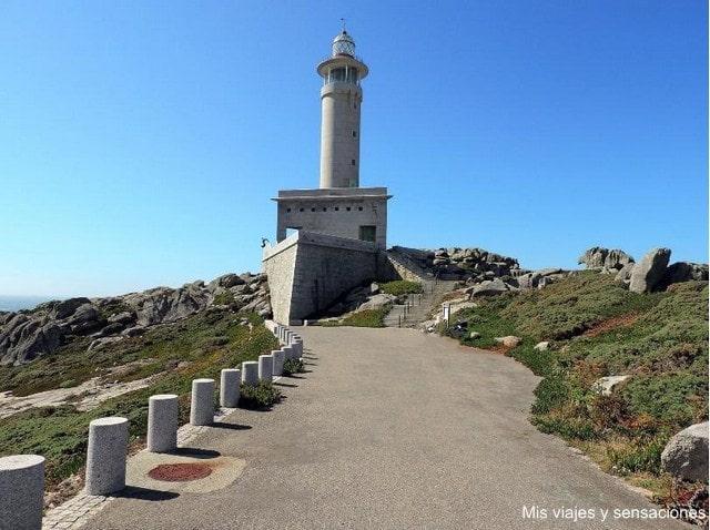 Faro de Punta Nariga, La Coruña, Galicia