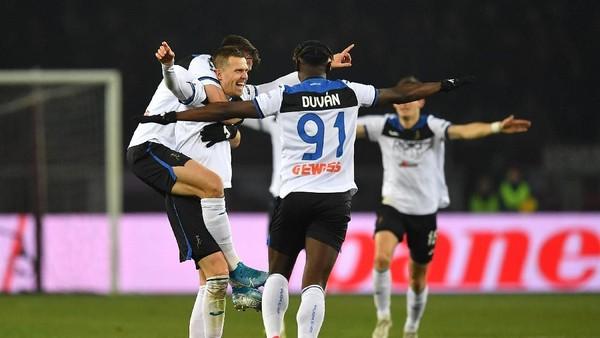 Video Cuplikan Gol: Torino 0-7 Atalanta (Serie A)