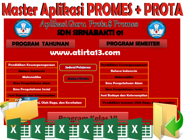 Download Prota Promes PAI KTSP Kelas 1, 2, 3, 4, 5 dan 6 SD