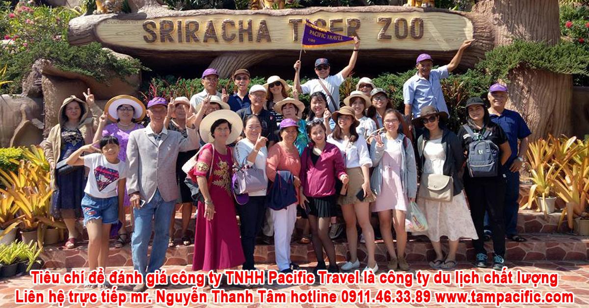 Tiêu chí để đánh giá công ty TNHH Pacific Travel là công ty du lịch chất lượng