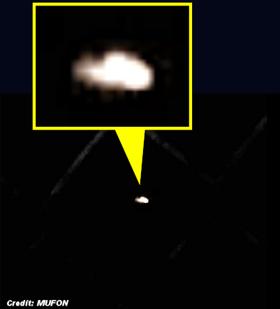 Boomerang-Shaped UFO Caught On Video 4-17-15