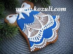 Роспись пряников глазурью (айсингом), видео мастер-классы. Рождественское печенье, рождественские пряники