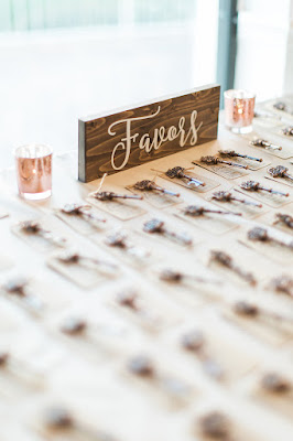 lock and key wedding favors