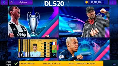 DLS 19 UEFA Champions League