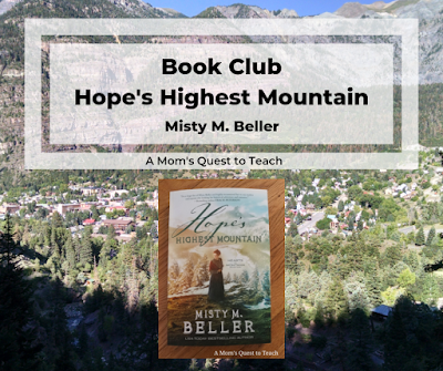 book cover of Hope's Highest Mountain