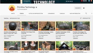 El canal de Primitive Technology lleva casi un año sin publicar un video