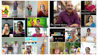 बोरीवली में मनपा बच्चों ने ऑनलाइन मनाया आषाढी एकादशी  | #NayaSaberaNetwork