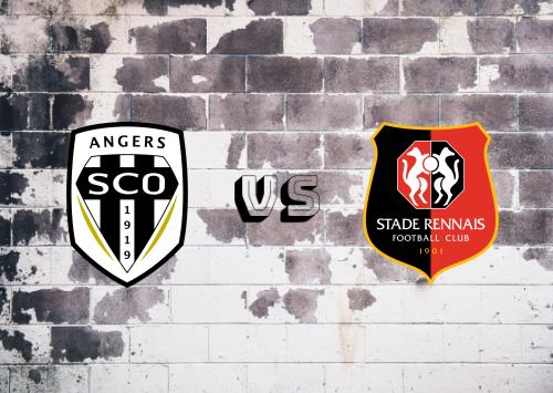 Angers vs Rennes  Resumen