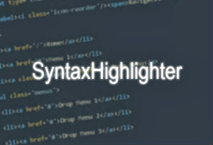 Text Warna-Warni pada Kode Script di Postingan (SyntaxHighlighter)