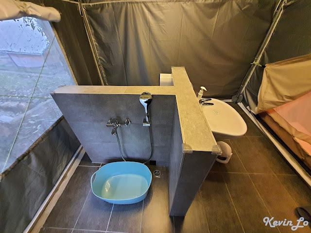 拉波波村營區水壓足夠